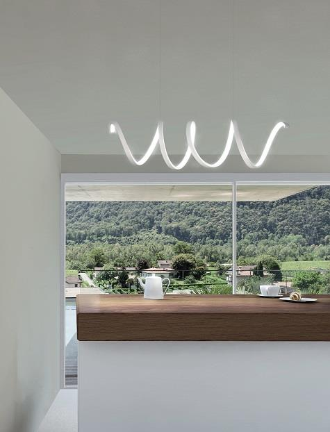 Lampadari a led per cucina camera da letto e soggiorno for Lampadari a led per interni