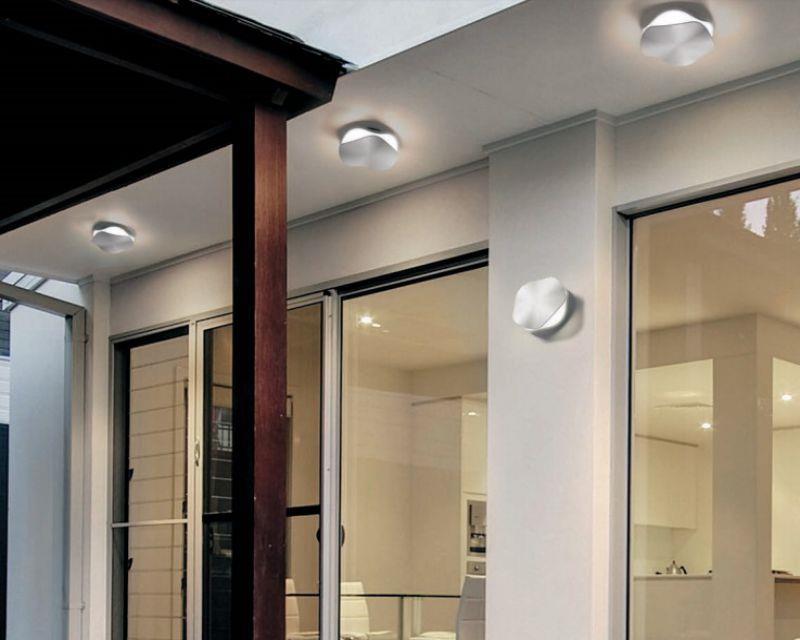 Plafoniera Da Esterno A Soffitto : Linealight plafoniere da esterno illumina in modo moderno e a led