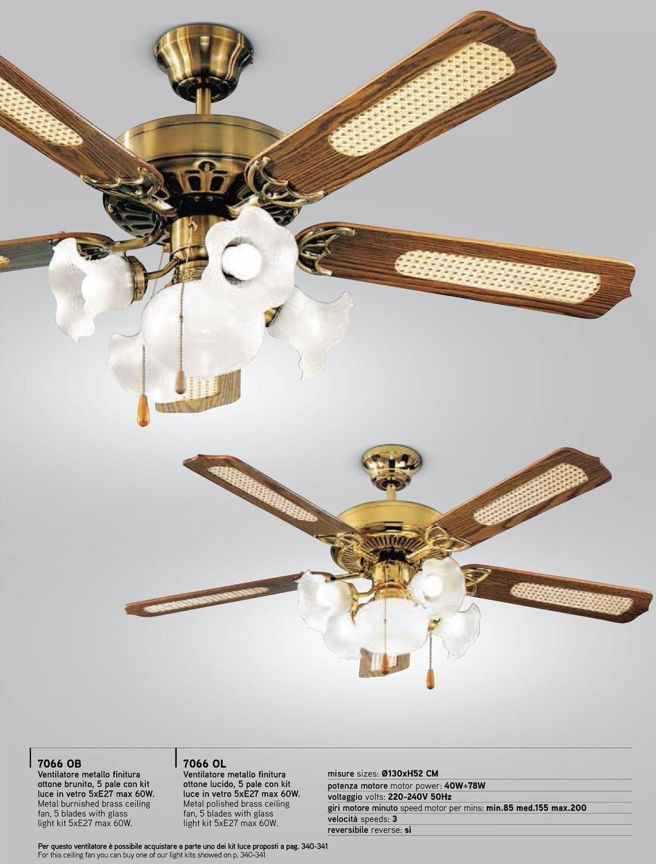 Vendita online di prodotti per l 39 illuminazione della casa for Ventilatori da soffitto design