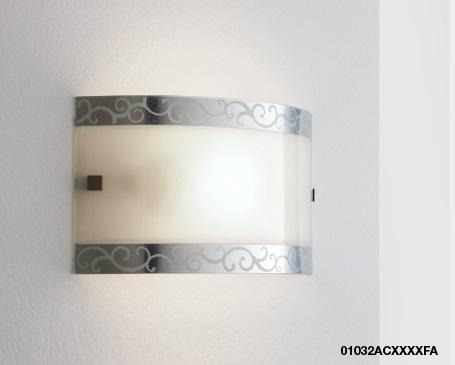 Applique capriccio decoro foglia argento