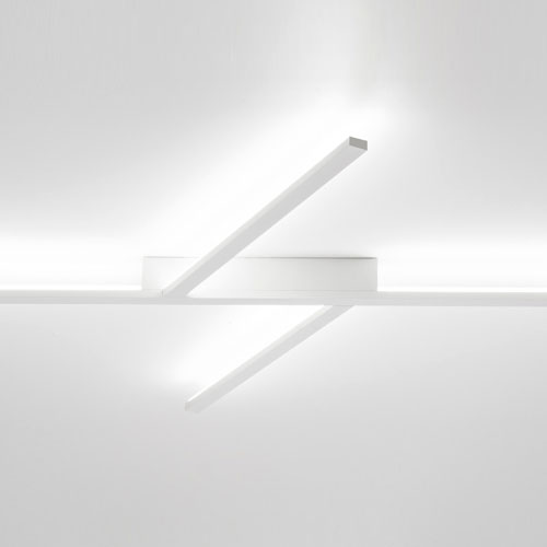 Plafoniera a led xilema plafoniera moderna di design for Plafoniere a led