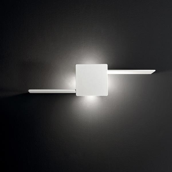 Applique a led in metallo con mensola 6406 B LC