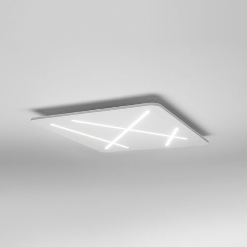 Plafoniere a led da parete e soffitto di diverse misure