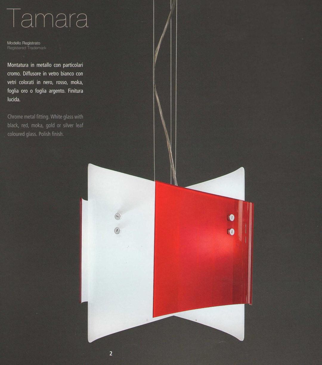 Lampadario in vetro tamara medio gea luce - Lampadari colorati design ...