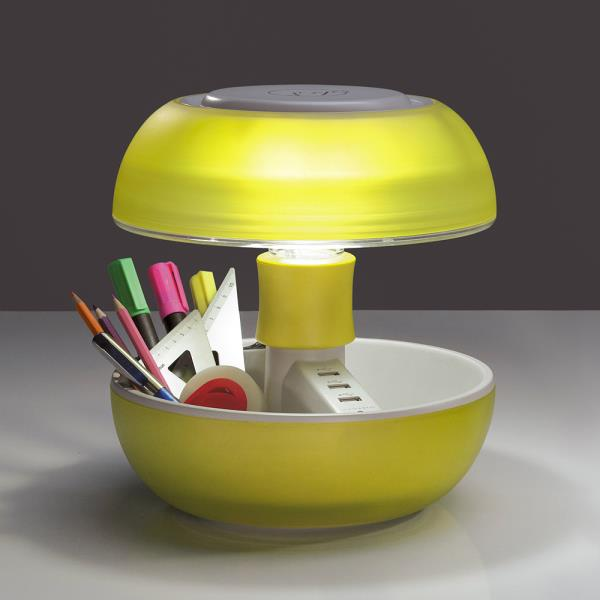 lampada da comodino joyo gialla lampada svuota tasche. Black Bedroom Furniture Sets. Home Design Ideas