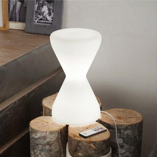 Lampada da tavolo a Led Clessidra  Abat-jour moderna