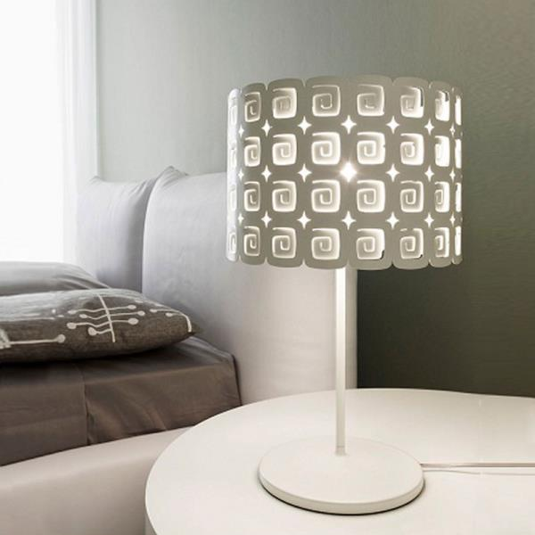 Abat jour e lampade da tavolo lampade da comodino for Lampada da tavolo grande