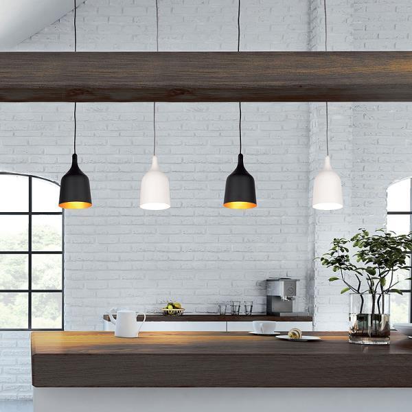 sospensioni pendenti e lampadari da cucina