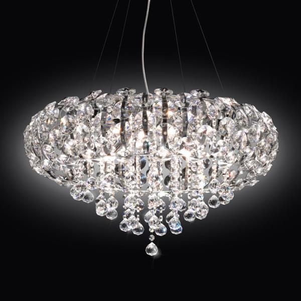 Lampadario con cristalli Asfur TRILOGY
