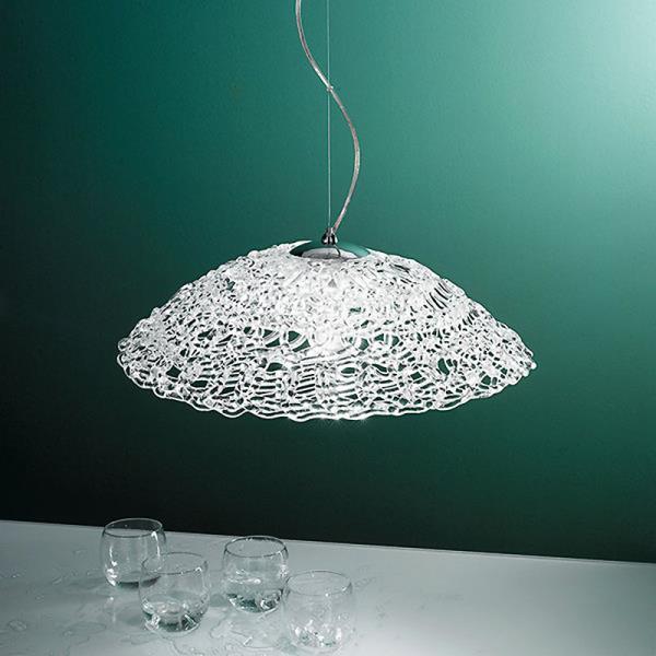 Lampadario da cucina ARTIC con lampadina a vista