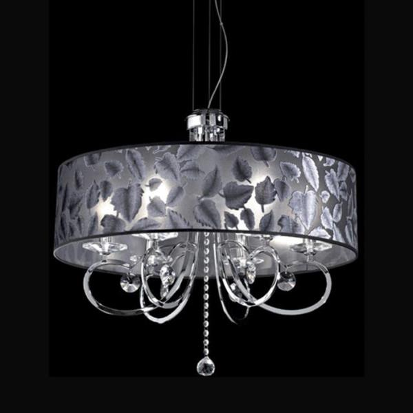lampadario con paralume : lampadario con paralume damasco lampadario con paralume damasco di ...