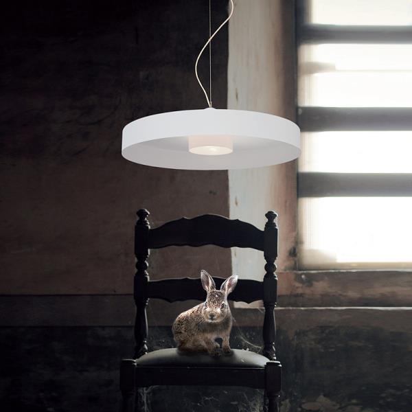 Lampadario in vetro e metallo MAGIA Sikrea -> Lampadario Cameretta In Vetro