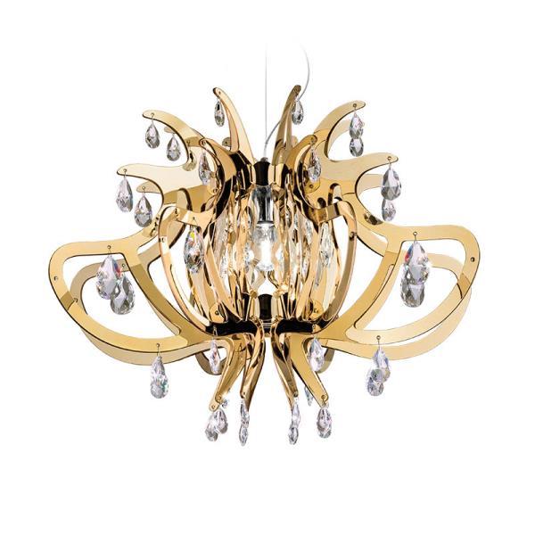 lampadari romantici : Lampadario moderno LILLIBET Oro