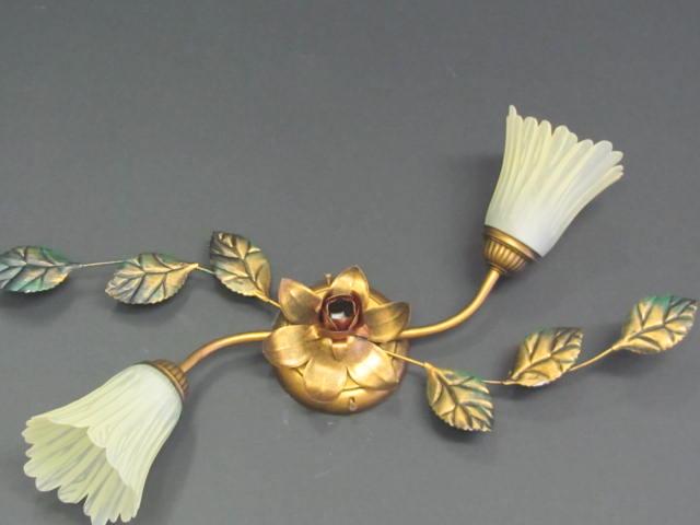 Acquista online una applique in ferro battuto marta ottone
