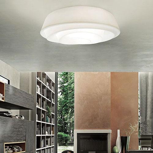 2 plafoniere da soffitto a prezzi economici for Plafoniera moderna