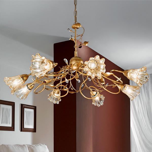 2 lampadari classici in stile per cucina camera e soggiorno for Lampadario classico