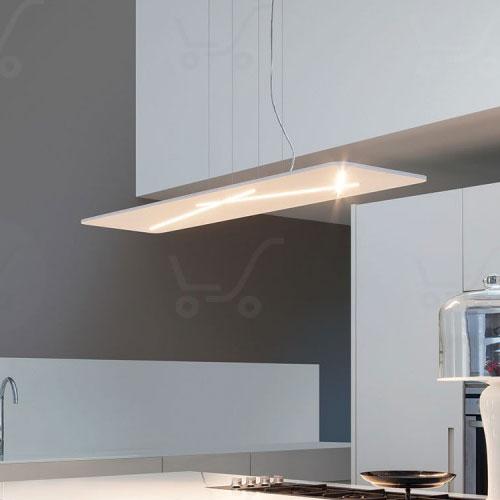 Sospensione a led next 38w lampadario moderno for Lampadari a led per cucina