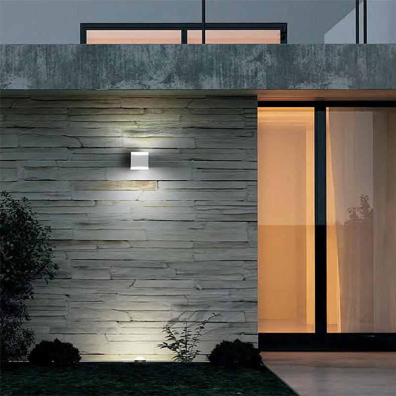 Applique da esterno a led vod 80 10 vivida for Illuminazione mondo convenienza