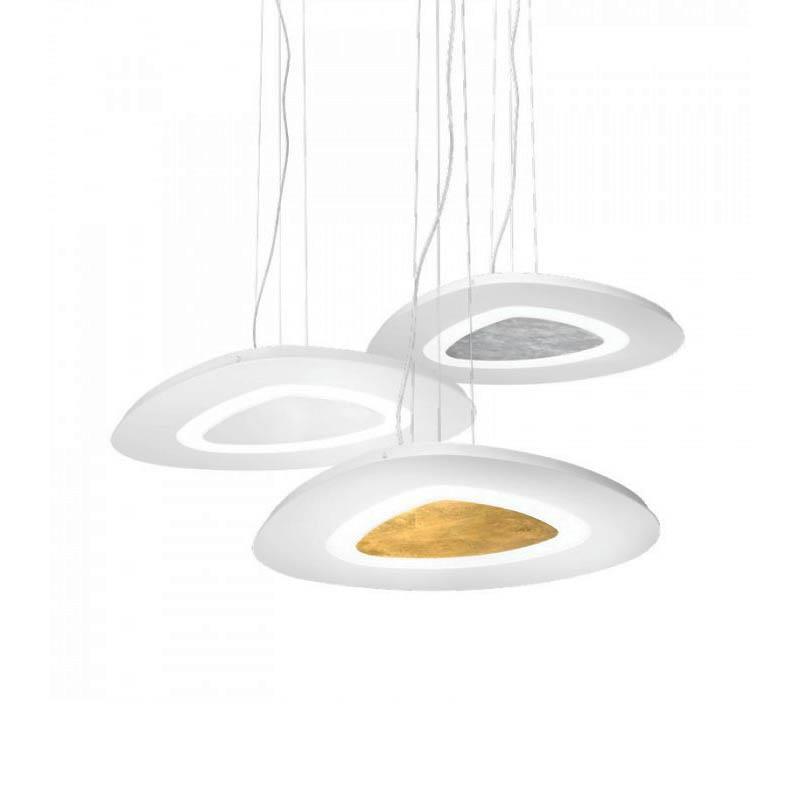 Lampadario a led manila di gea luce for Lampadari luce led