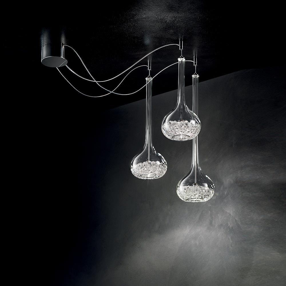 Negozio online di lampadari plafoniere applique e lampade for Lampadario legno moderno