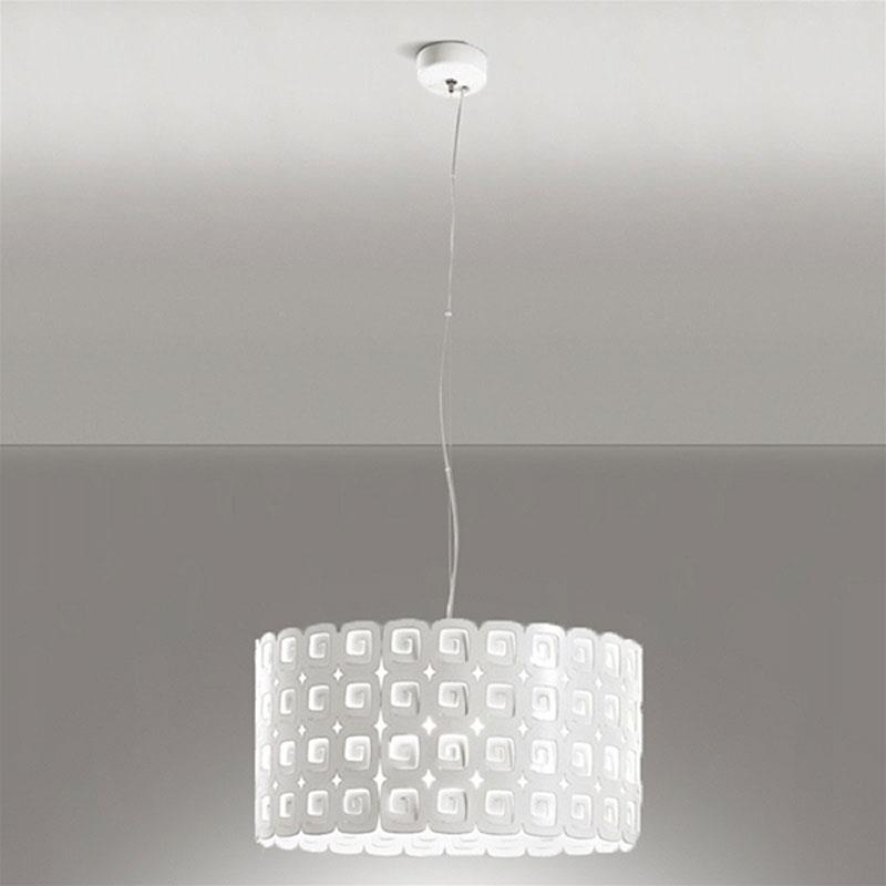 Lampadario moderno in metallo gis le for Lampadari cucina moderni