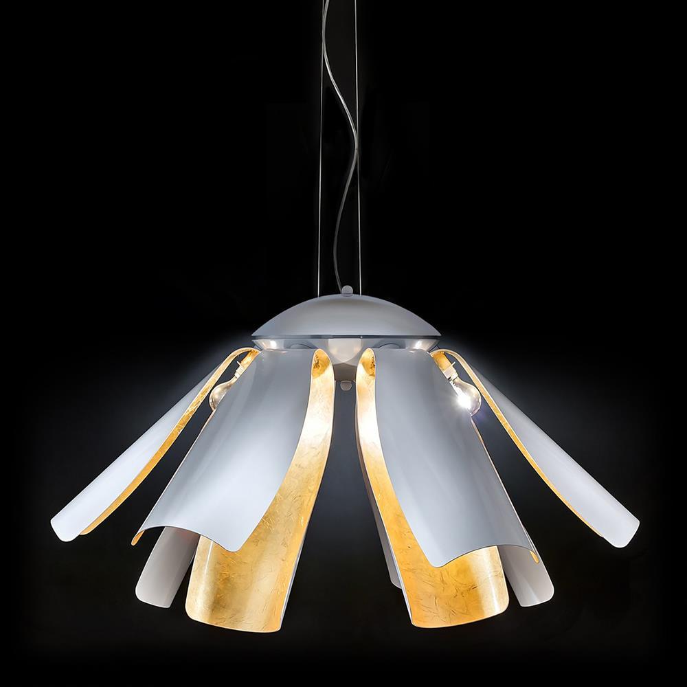 Negozio online di lampadari plafoniere applique e lampade for Lampadario ventaglio