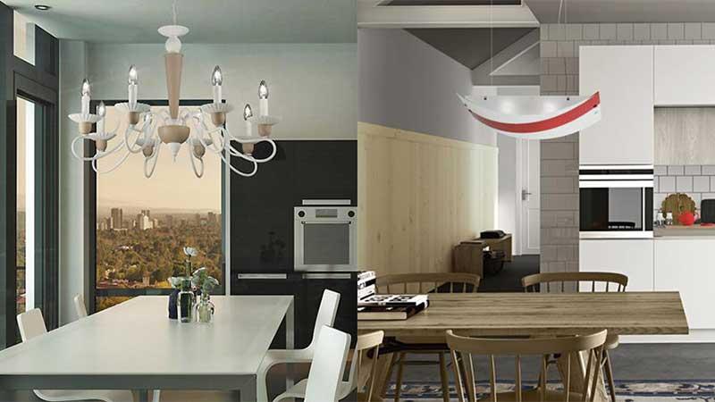 Come illuminare la cucina 3 punti principali da considerare - Luce per cucina ...