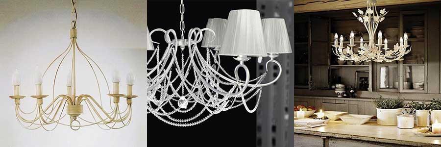 Lampadari stile provenzale per illuminare una casa raffinata