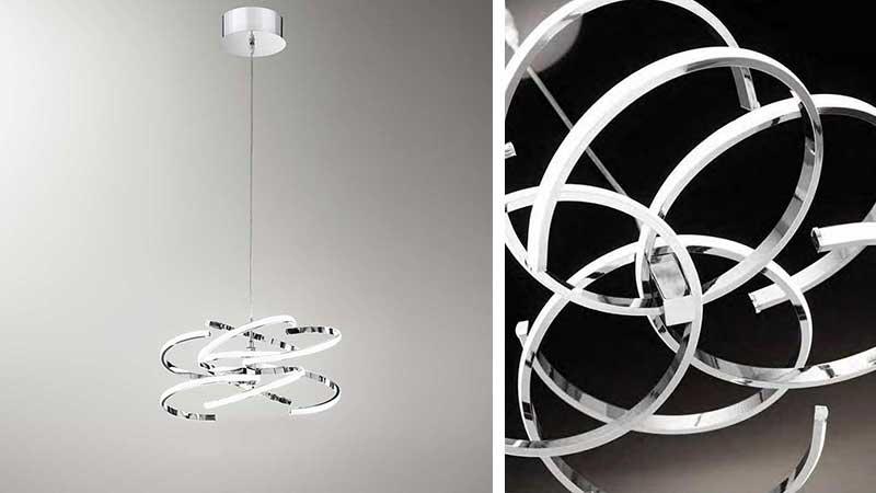 Come scegliere i lampadari per un soggiorno moderno
