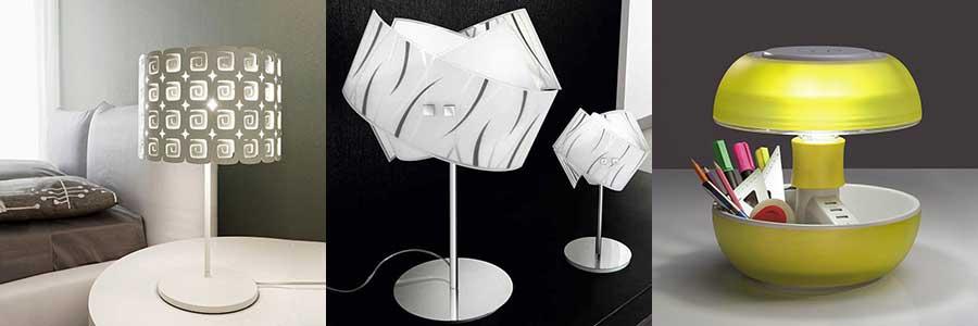 Lampade per comodini camera da letto tra idee originali e for Lampade per comodini moderne