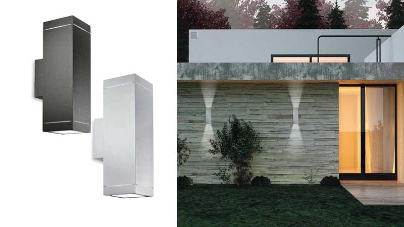 Pareti Esterne Illuminate : Come illuminare una parete in pietra dentro e fuori casa