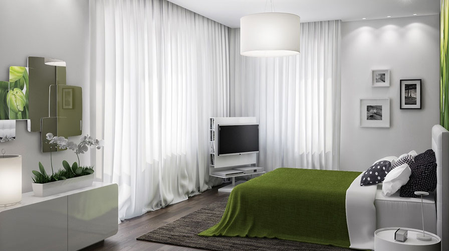 Consigli per l illuminazione della camera da letto for Faretti camera da letto