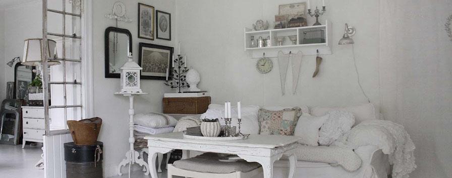 Arredare casa in stile shabby chic for Case arredate stile shabby