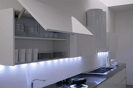 L illuminazione per la cucina moderna