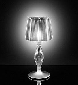 Lampade da tavolo di design sculture di luce for Basi in ceramica per lampade da tavolo