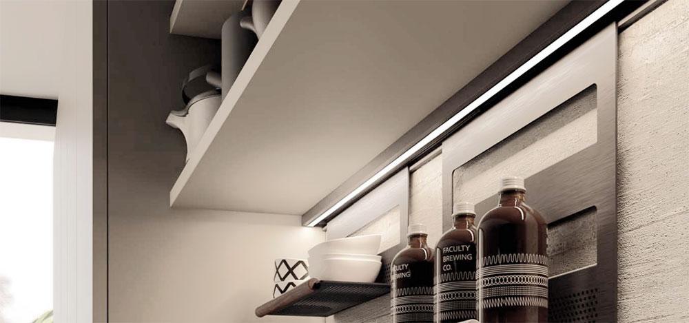 Come illuminare la cucina coi led | Utilizzare i led ...